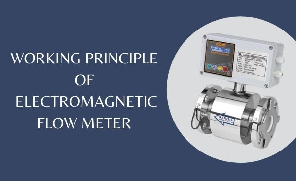 Working Principle of Electromagnetic flow meter