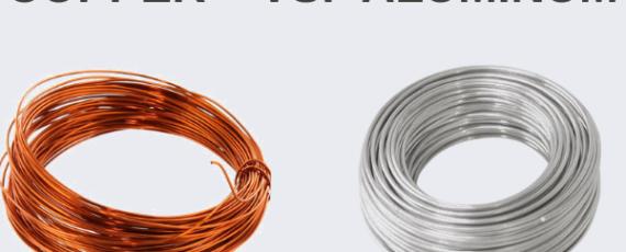 Copper winding vs aluminum winding in the motor