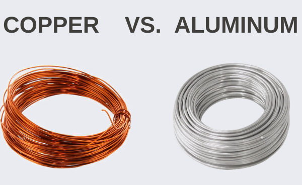 Copper winding vs aluminum winding in the motor