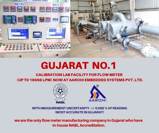 Gujarat no 1 calibration laboratory for flow meter